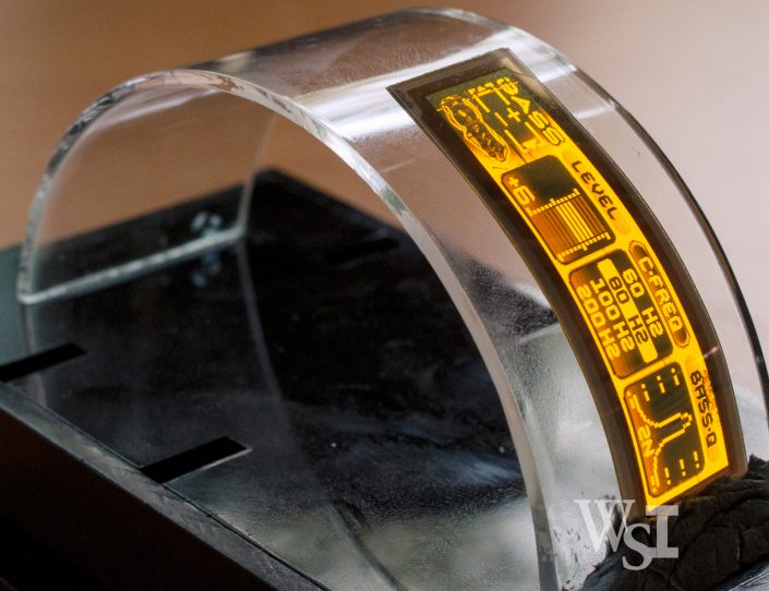Bendable OLED